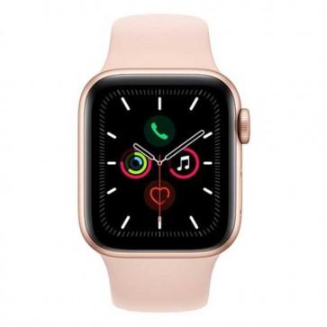 Apple Watch Series 5 40mm Gold Aluminium Case, Pink Sand Sportband