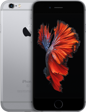 Apple iPhone 6s 32GB zwart/ grijs