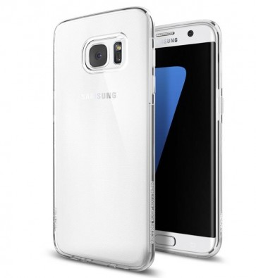 Samsung Galaxy S7 Edge - Siliconen hoesje transparant