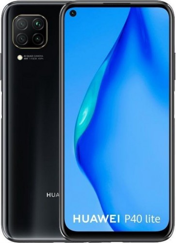 Huawei P40 lite Zwart