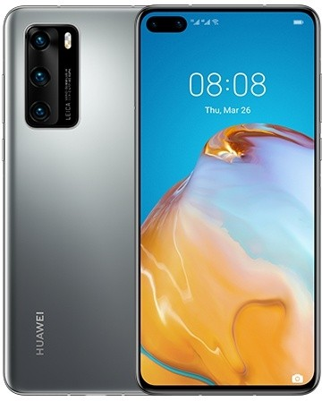 Huawei P40 Zilver