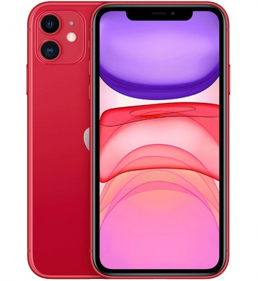 Apple iPhone 11 64GB Rood