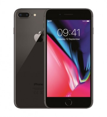 Apple iPhone 8 Plus zwart