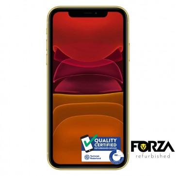 Forza Refurbished Apple iPhone 11 64GB Geel B Grade