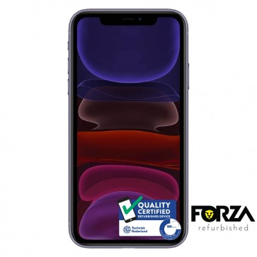 Forza Refurbished Apple iPhone 11 64GB Paars A Grade