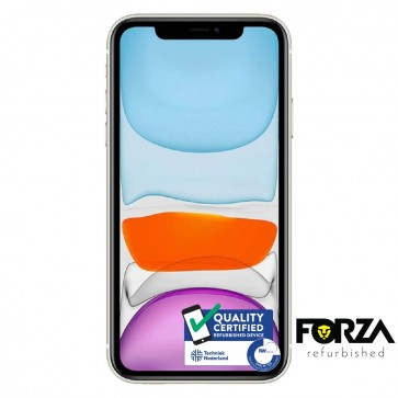 Forza Refurbished Apple iPhone 11 64GB Wit A Grade