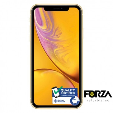 Forza Refurbished Apple iPhone XR 64GB Geel A Grade