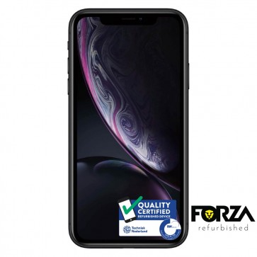 Forza Refurbished Apple iPhone XR 64GB Zwart B Grade