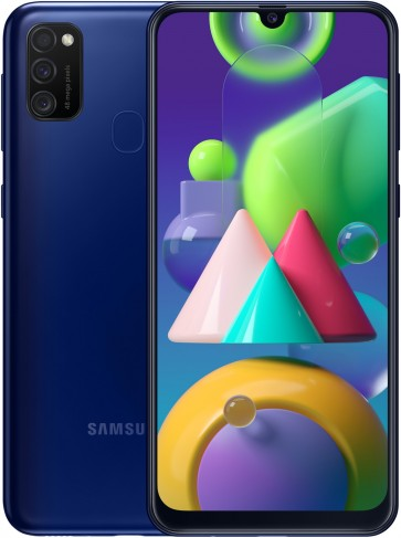 Samsung Galaxy M21 Blauw