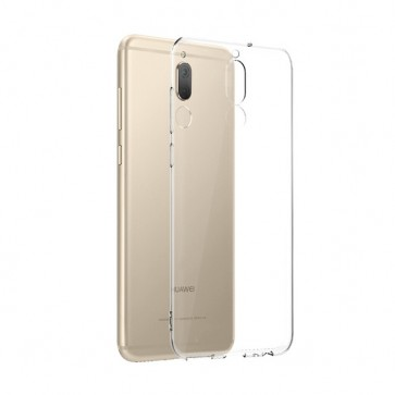 Huawei Mate 10 Lite Dualsim - Siliconen Hoesje Transparant