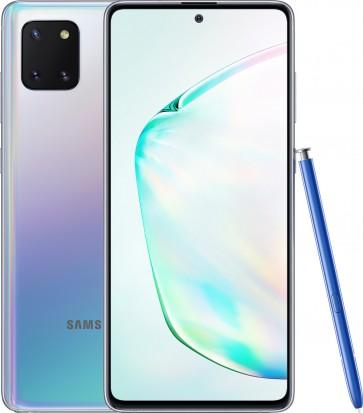 Samsung Galaxy Note 10 Lite Zilver Glow