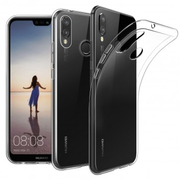 Huawei P20  Dualsim - Siliconen hoesje transparant