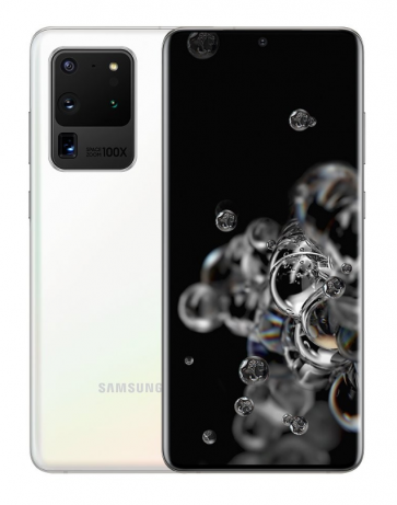 Samsung Galaxy S20 Ultra 5G Wit