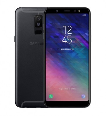Samsung Galaxy A6 Plus zwart