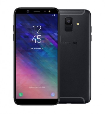 Samsung Galaxy A6 zwart