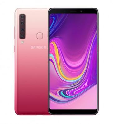 Samsung Galaxy A9 achterkant roze