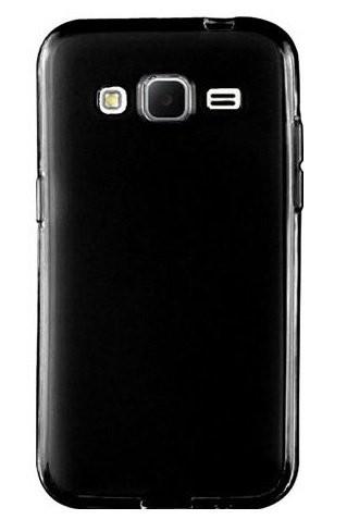Samsung Galaxy J3 (2016) -  Siliconen Hoesje Zwart