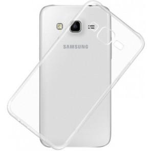 Samsung Galaxy J3 (2016) -  Siliconen Hoesje Transparant
