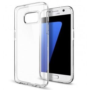 Samsung Galaxy S7 - Siliconen hoesje transparant