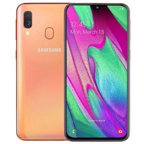 Samsung Galaxy A40 Dualsim Oranje