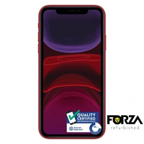 Forza Refurbished Apple iPhone 11 64GB Rood B Grade
