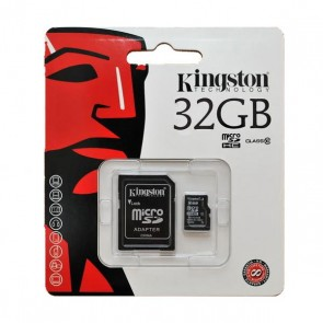 Kingston micro SD HC-kaart 32GB