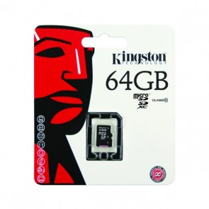 Kingston micro SD HC-kaart 64GB