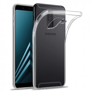 Samsung Galaxy A6 Plus - A605 Siliconen Hoesje transparant