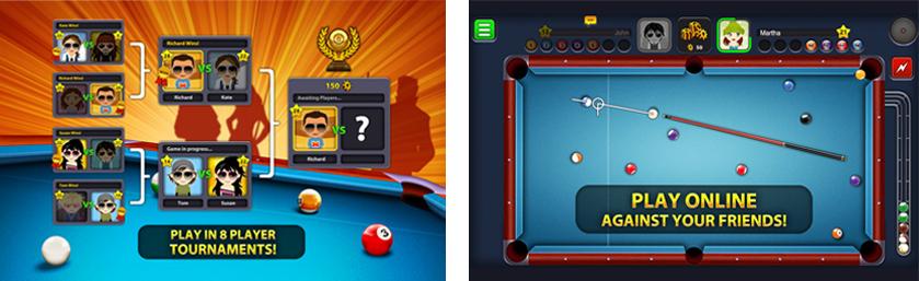 Nummer 3: 8 Ball Pool