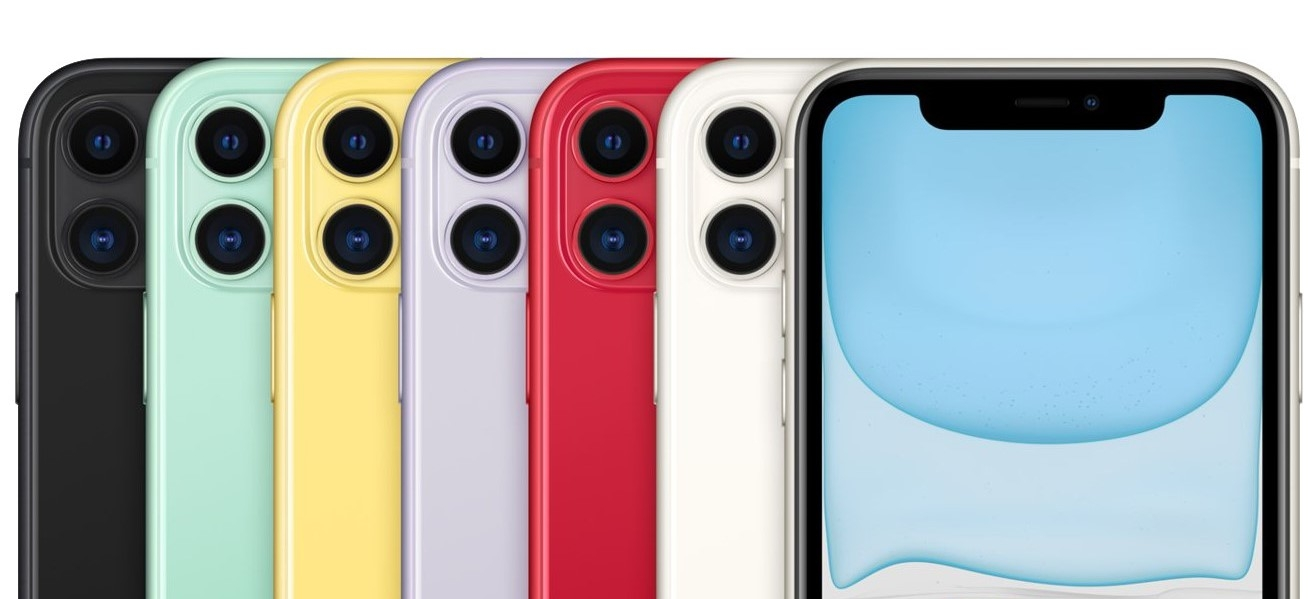 Apple iPhone 11 kleuren