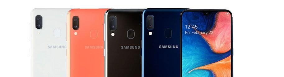 los toestel Samsung Galaxy A20e
