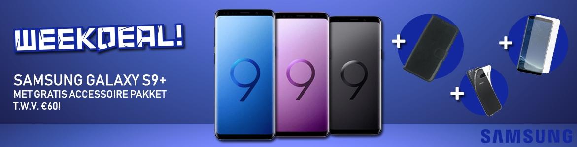 Samsung Galaxy S9 Plus aanbieding