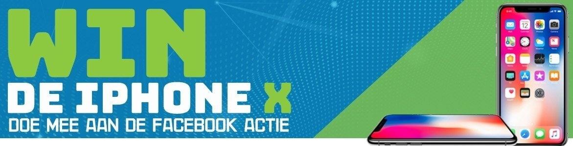 iPhone X Facebook Actie
