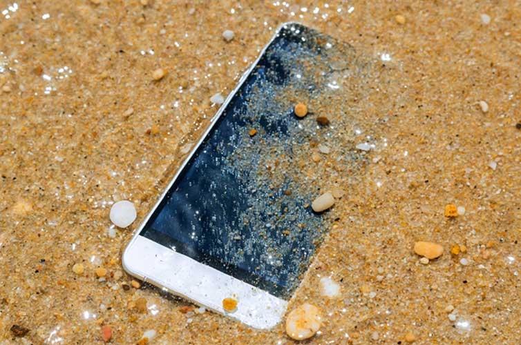 waterdichte telefoons