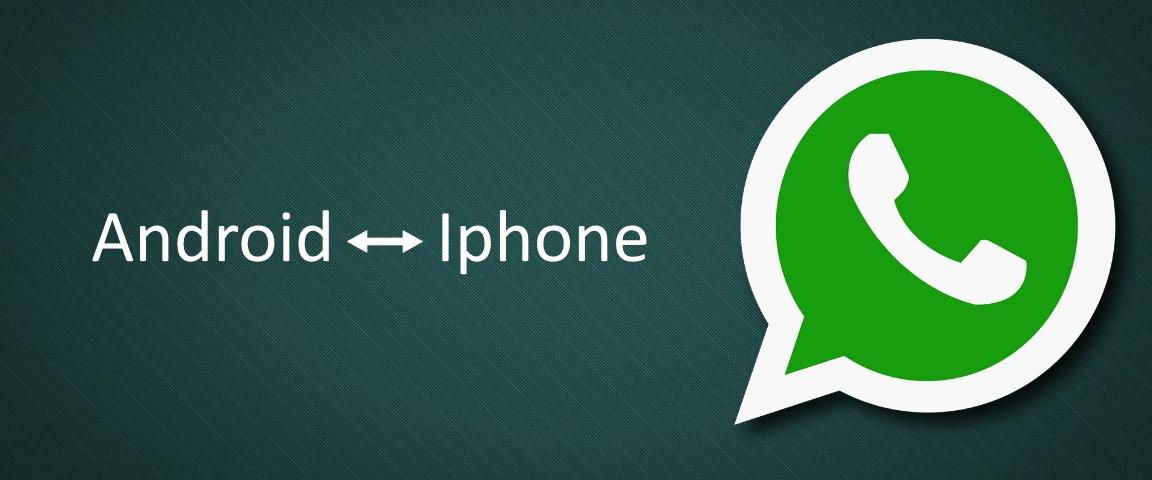 whatsapp overzetten apple android